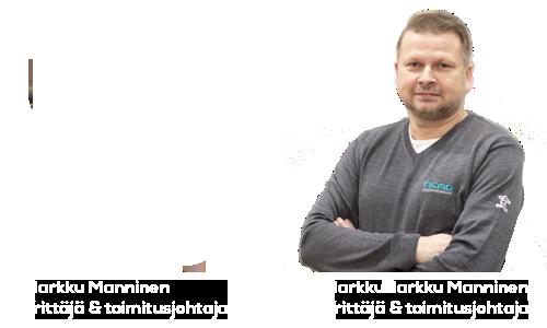 Markku Manninen toimitusjohtaja ja yrittäjä